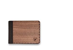 Dřevěné peněženky